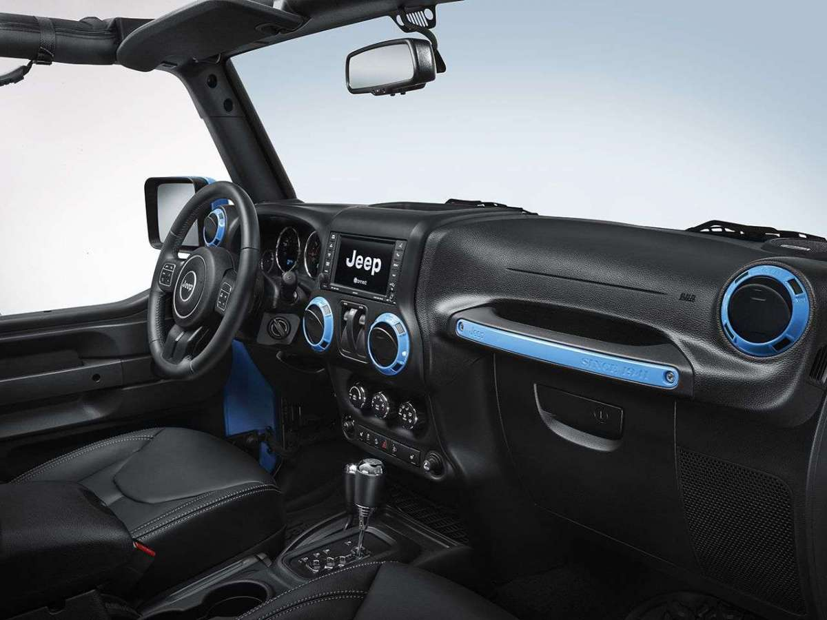 Jeep Wrangler Mopar One interni