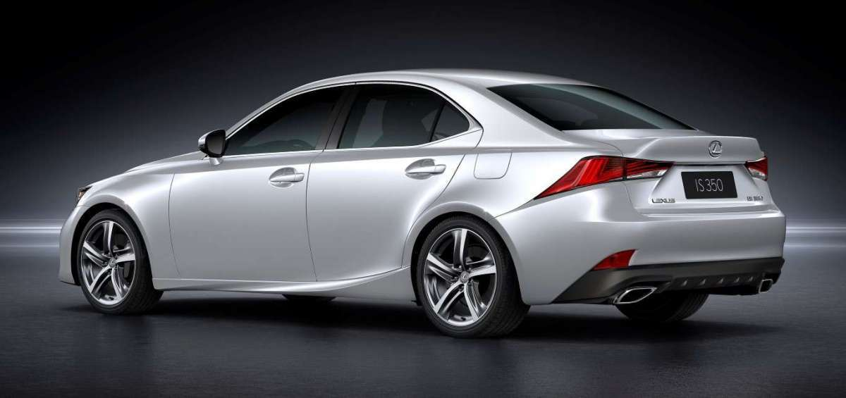 Lexus IS restyling  posteriore