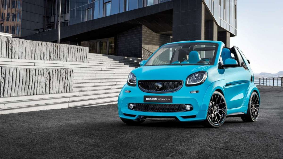 Brabus Ultimate 125, Smart Fortwo