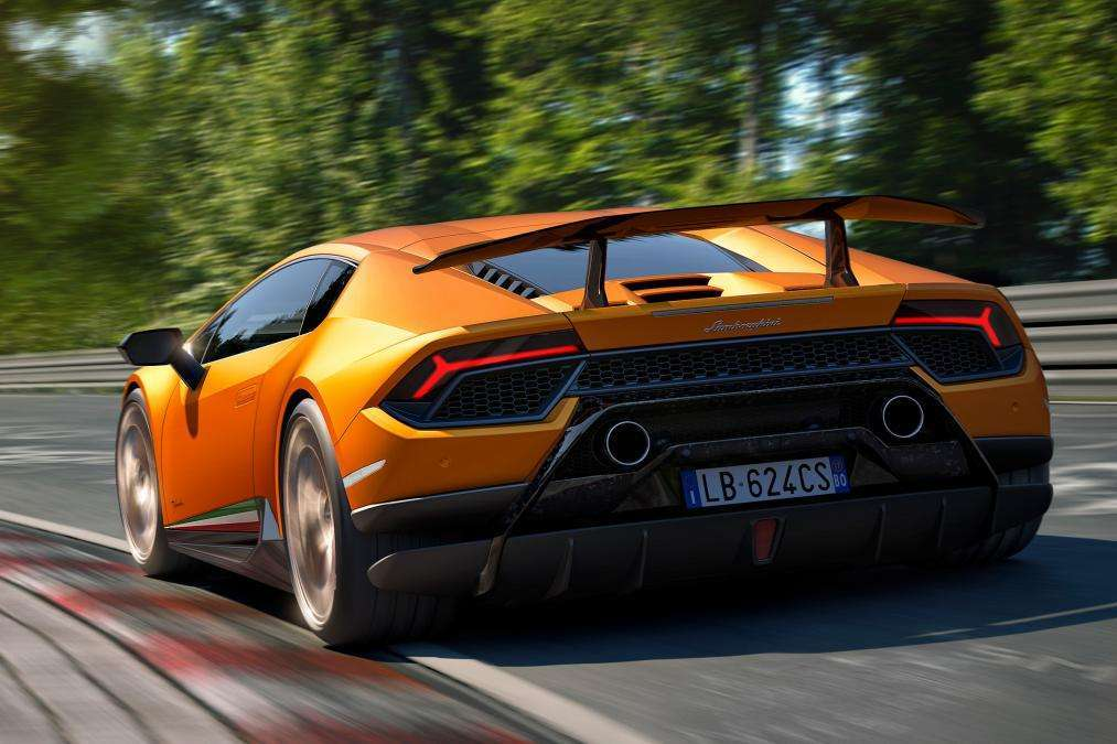Lamborghini Huracan Performante retro