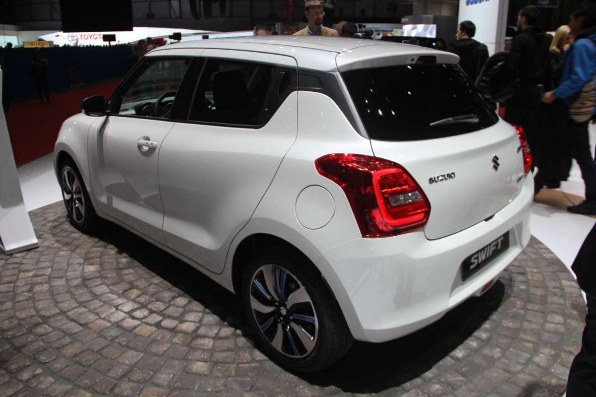 Suzuki Swift 2017 coda