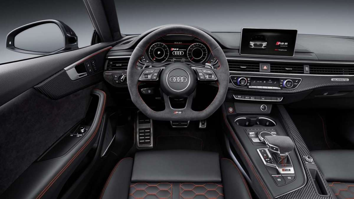 Audi RS5 2017 interni