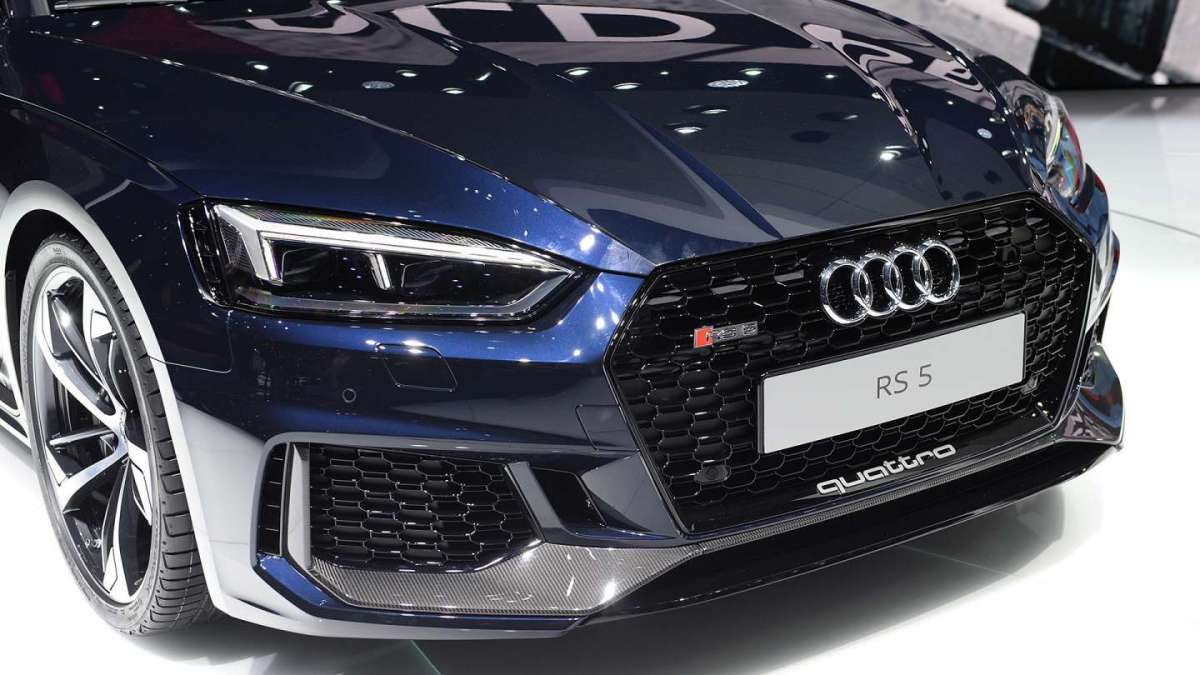 Frontale Audi RS5 2017