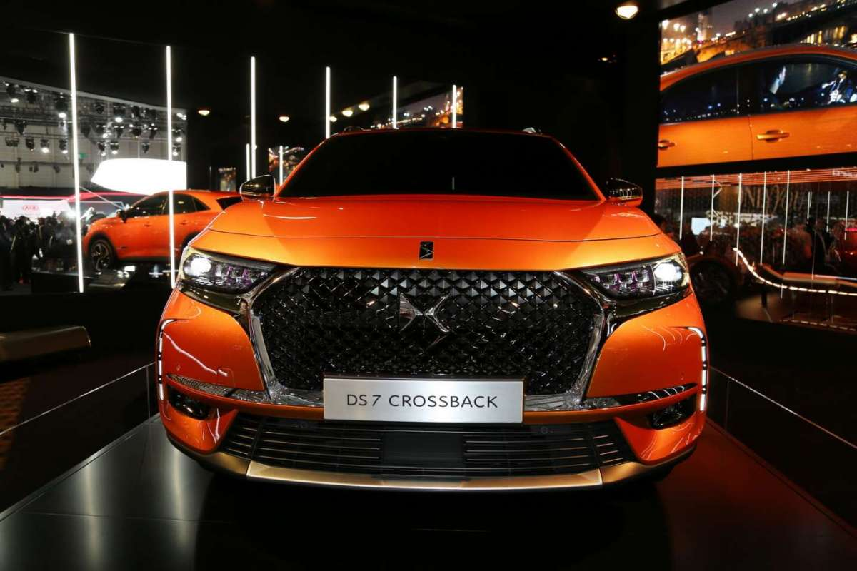 DS7 Crossback musetto importante