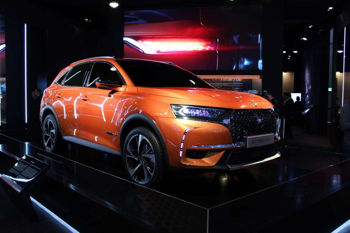 DS 7 Crossback LIVE