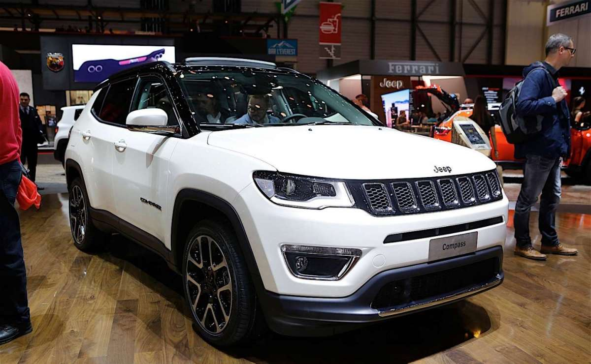 Jeep Compass Salone di Ginevra