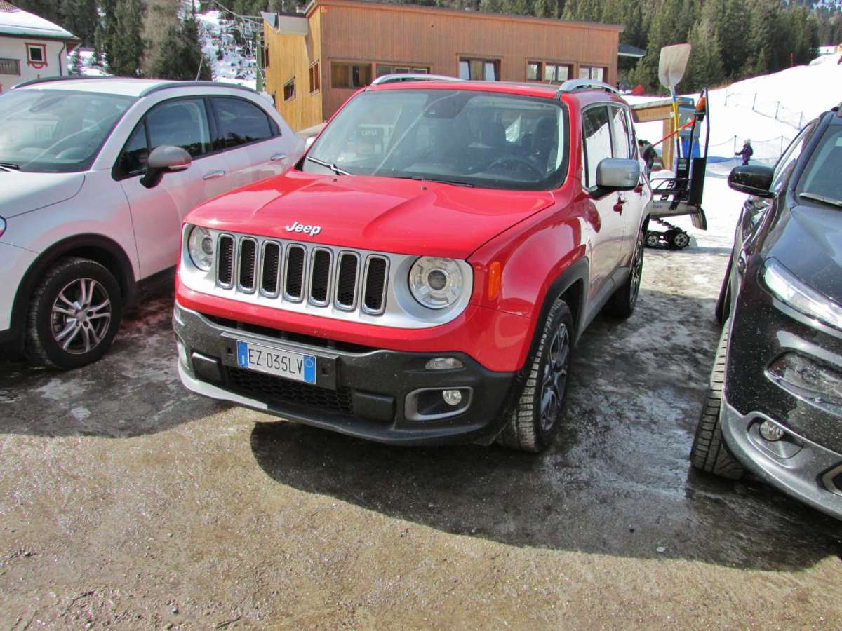 Jeep Renegade rosso