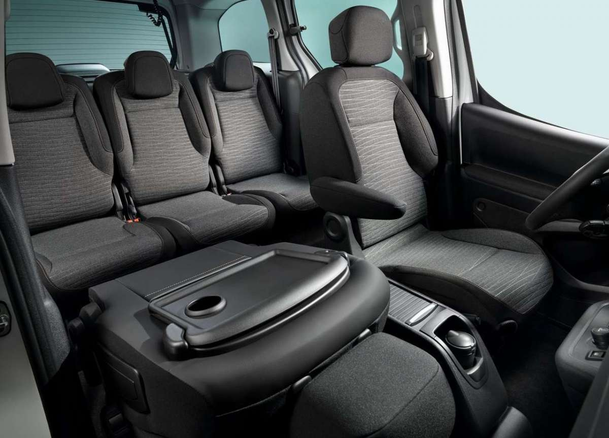 Configurazioni interne Citroen E-Berlingo Multispace