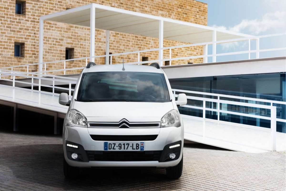 Luci diurne a LED Citroen E-Berlingo Multispace