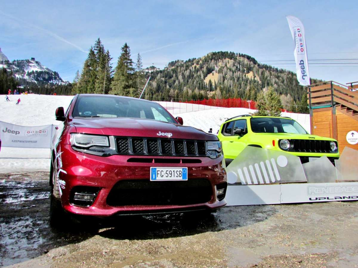 Grand Cherokee SRT rossa
