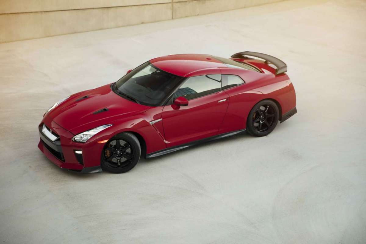Nissan GT-R Track Edition 2017 potenza