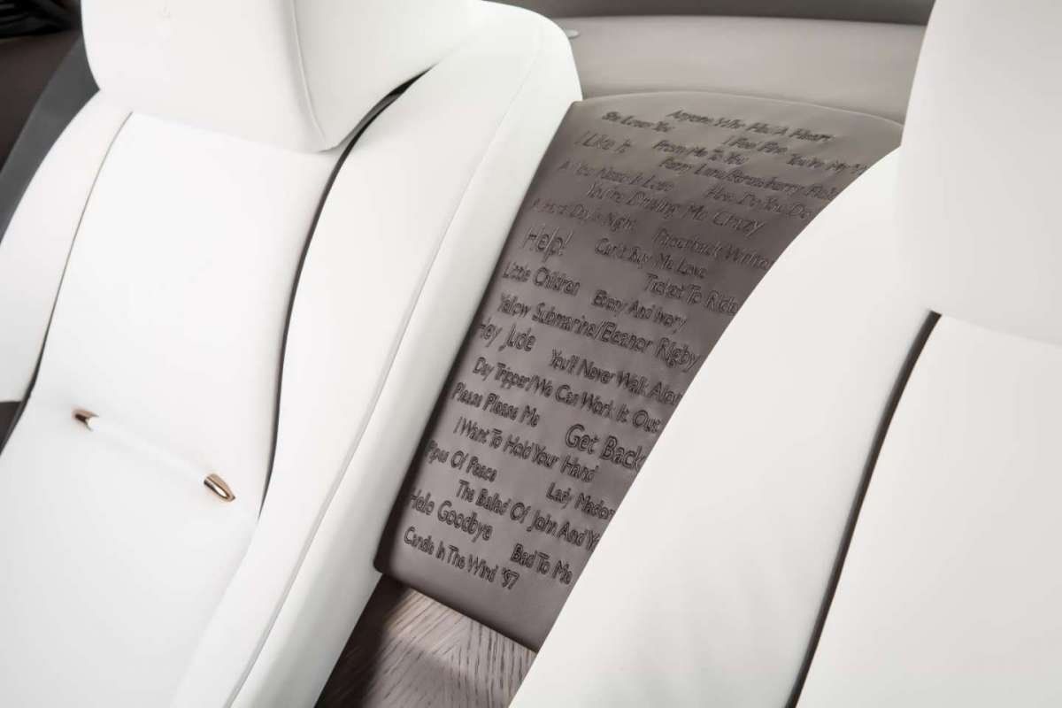 Testo canzoni Beatles su Rolls Royce Wraith Inspired by Music