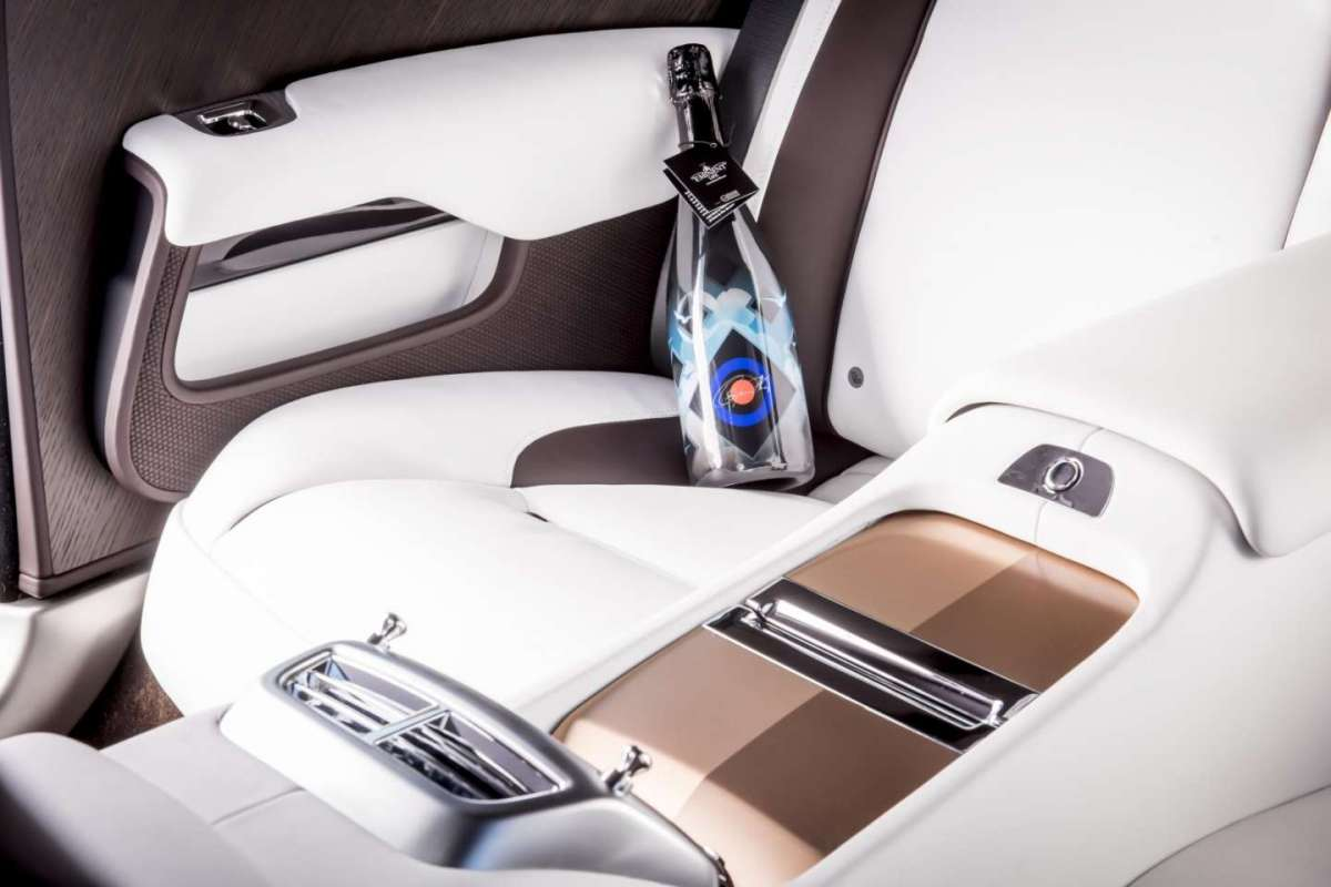 Interni di Rolls Royce Wraith Inspired by Music
