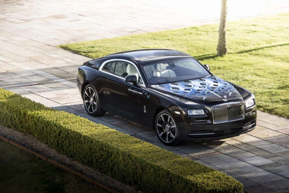 Rolls Royce Wraith personalizzata Inspired by Music