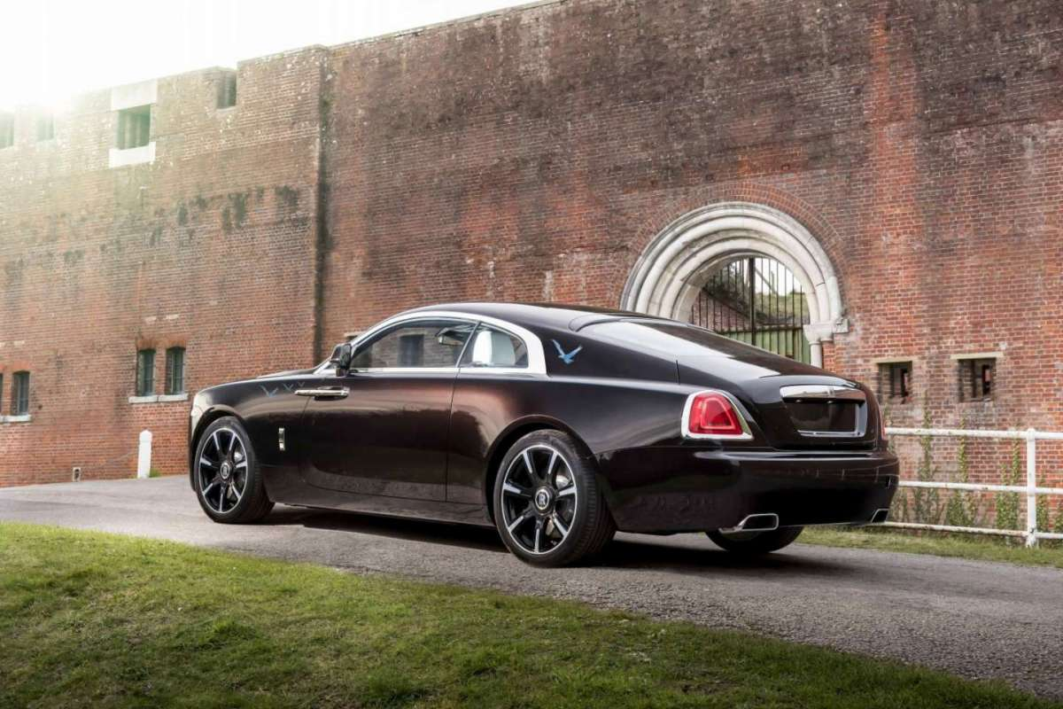 Rolls Royce Wraith Inspired by Music esemplare dei The Who