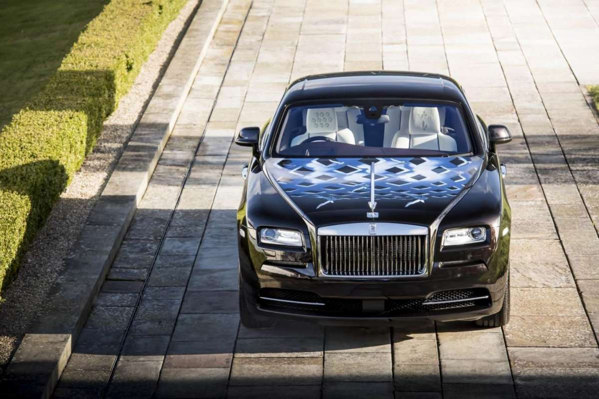 BeSpoke Audio per Rolls Royce Wraith Inspired by Music