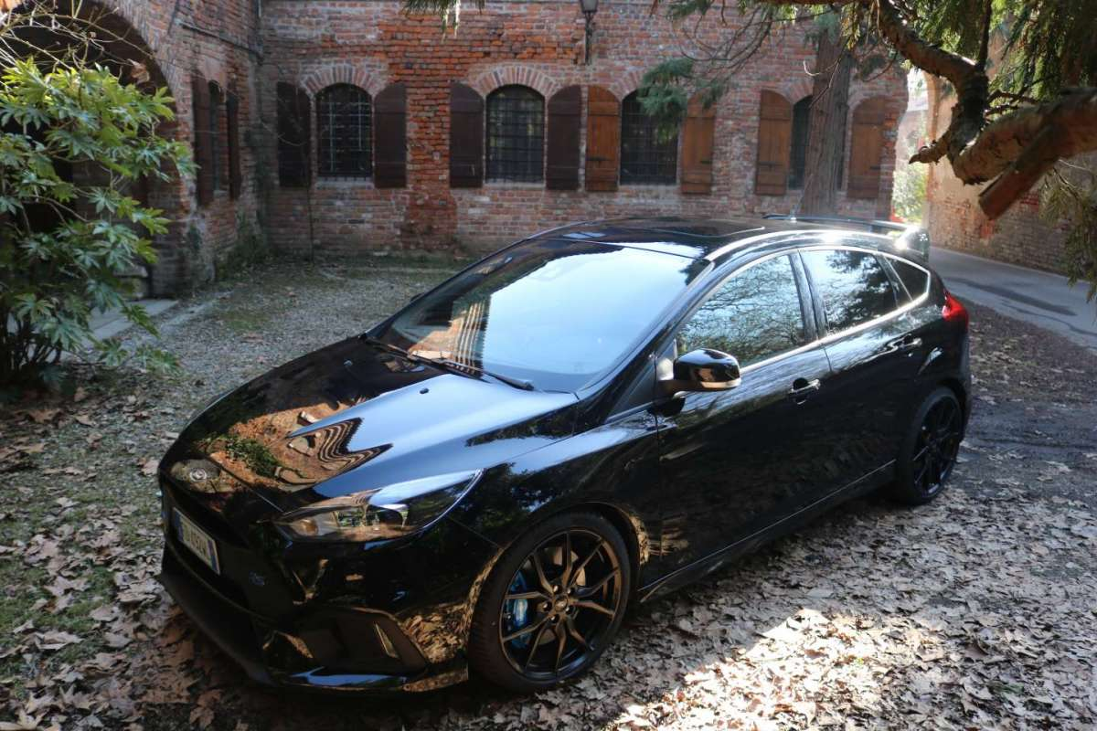 Ford Focus RS, prova su strada