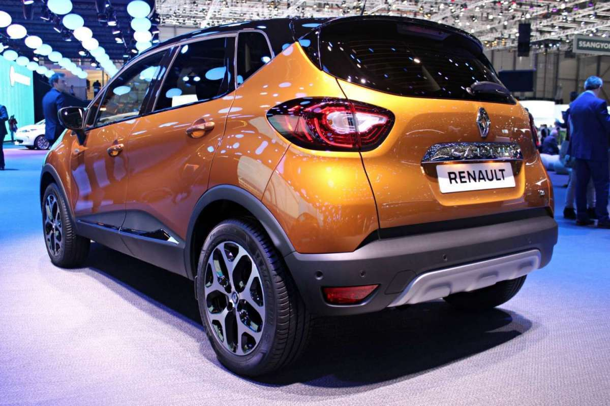 Renault Captur restyling posteriore