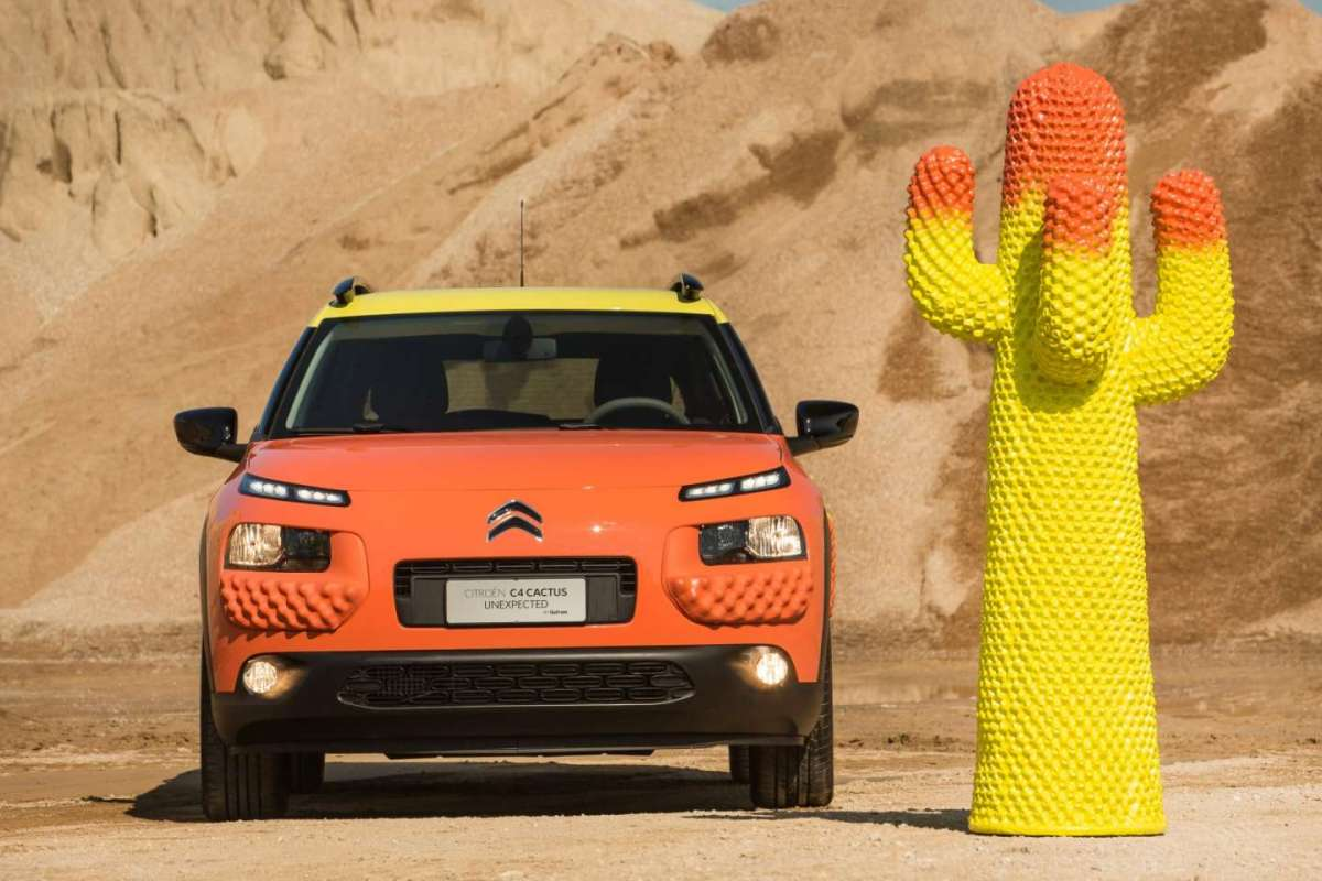 Milano Design Week 2017, Citroen C4 Cactus Unexpected by Gufram