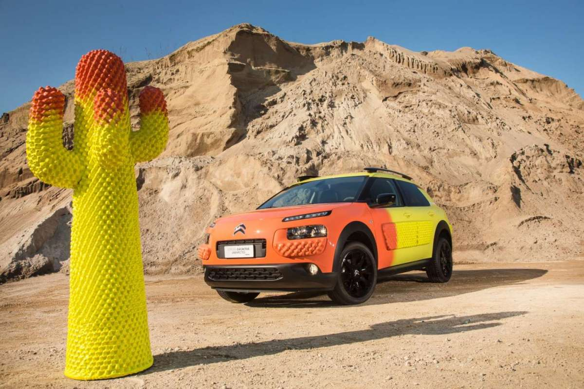Colori di Citroen C4 Cactus Unexpected by Gufram