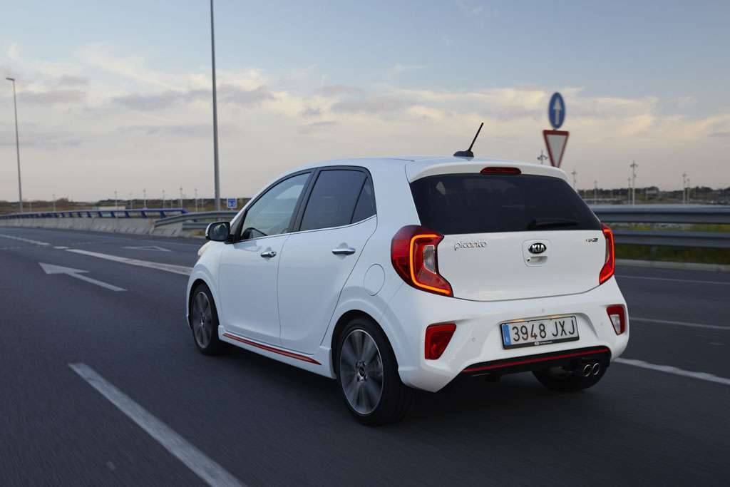 Kia Picanto 2017 colore Clear White
