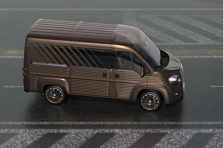 Citroen Type H 2017 marrone