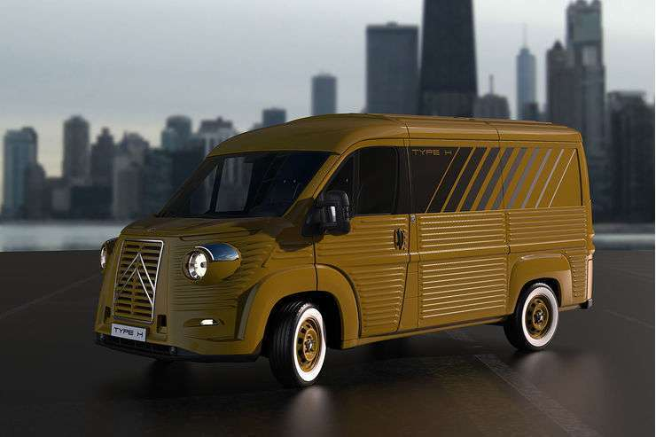 Citroen Type H 2017 giallo