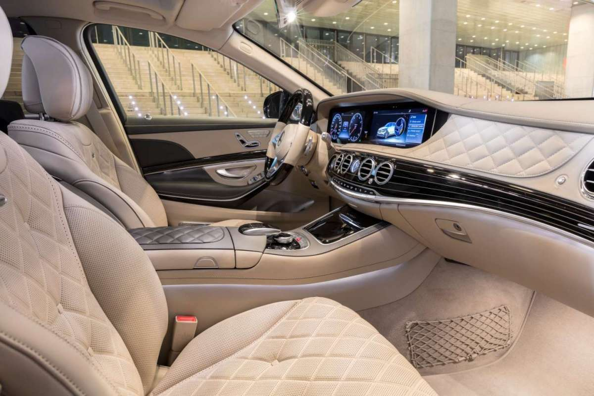 Mercedes-Maybach Classe S restyling, interni