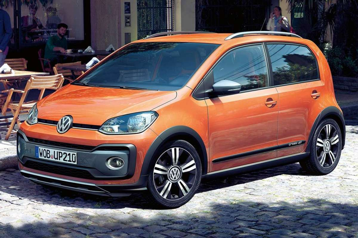 Nuova Volkswagen Cross Up! restyling 2017