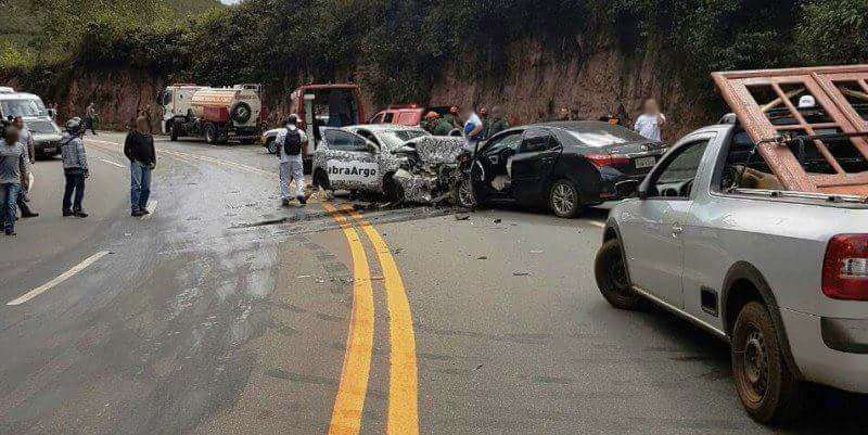 Incidente per Fiat Argo 2017