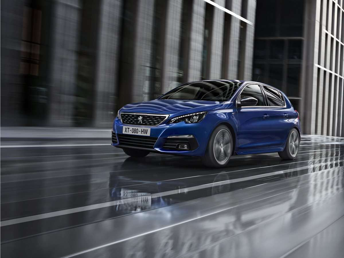 Peugeot 308 restyling 2018