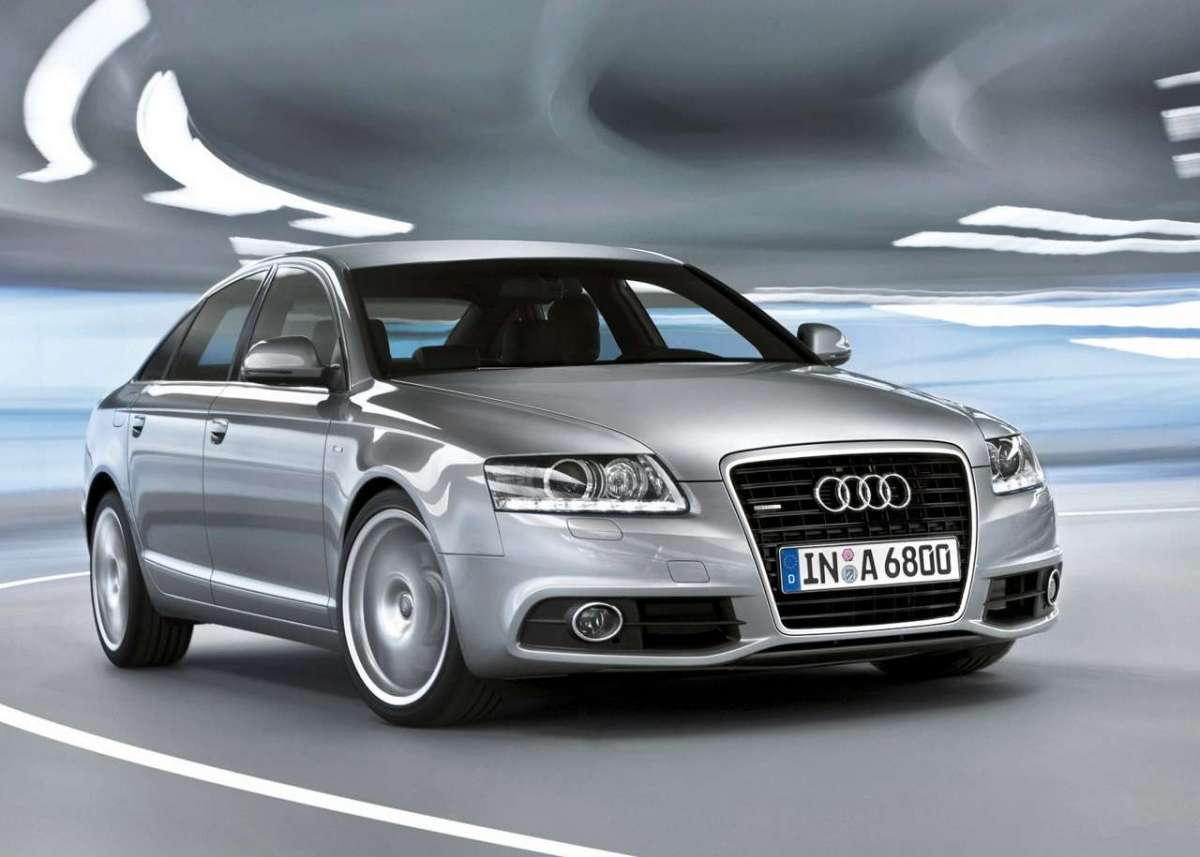 Audi A6 2009 restyling