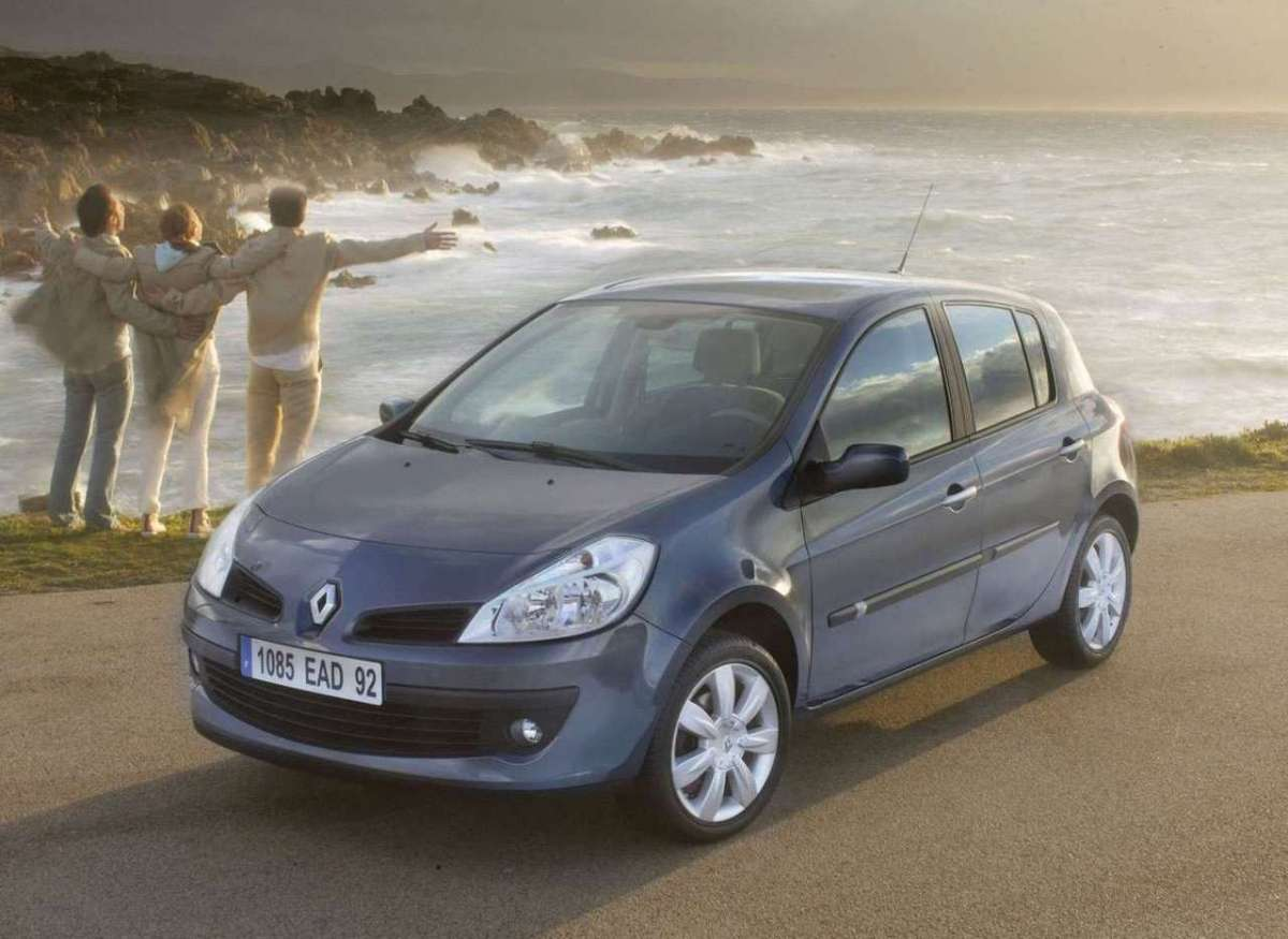 Renault Clio 2005 frontale