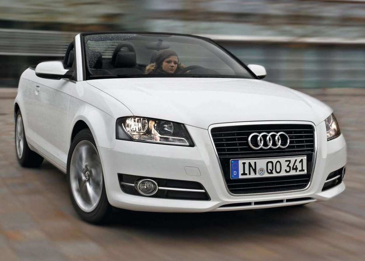 Audi A3 cabriolet muso