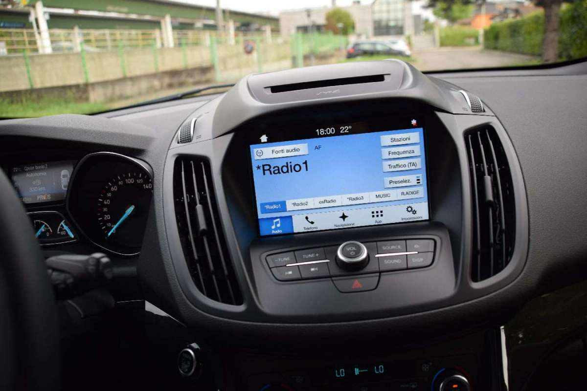Ford Kuga 2017 multimedia