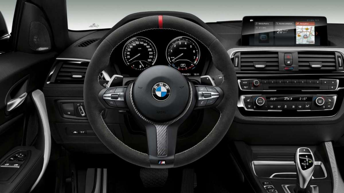Interni di BMW M240i M Performance