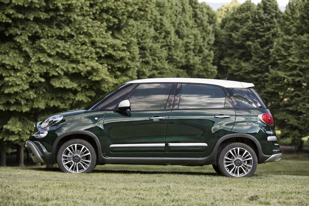 Fiat 500L Cross 2017 assetto rialzato