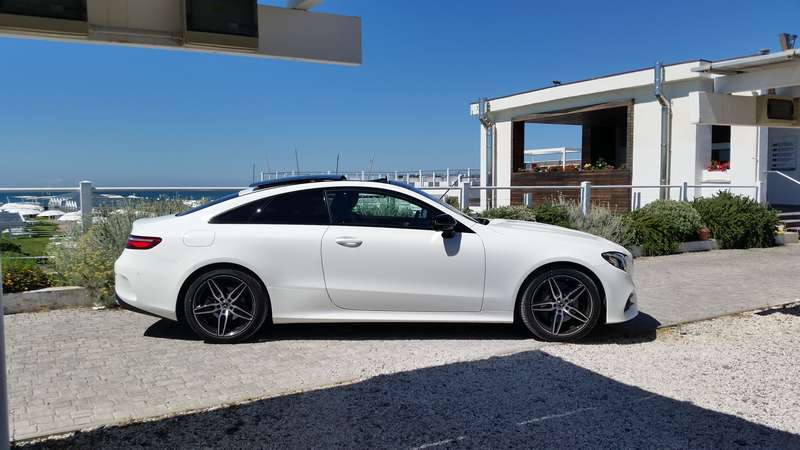 Mercedes Classe E Coupé 2017 dimensioni
