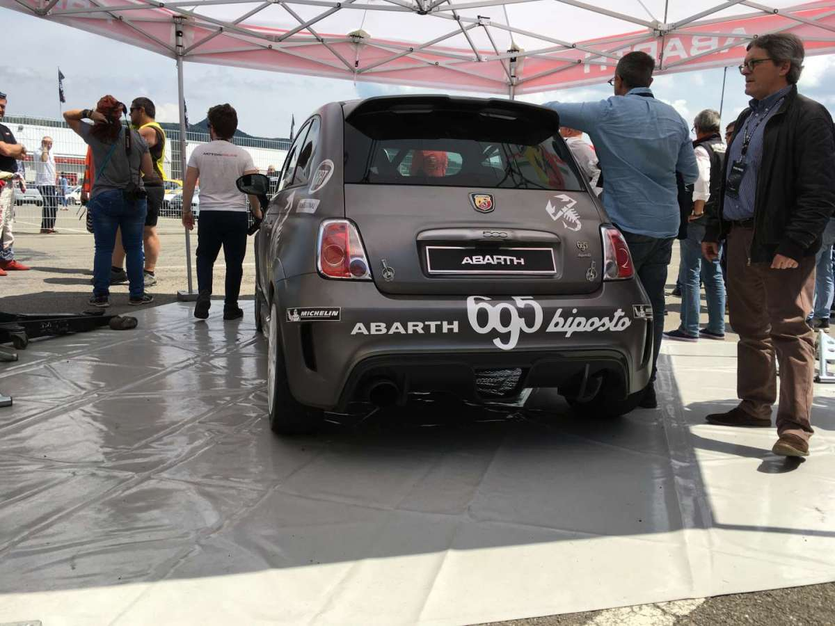 Abarth 695 Biposto Rally
