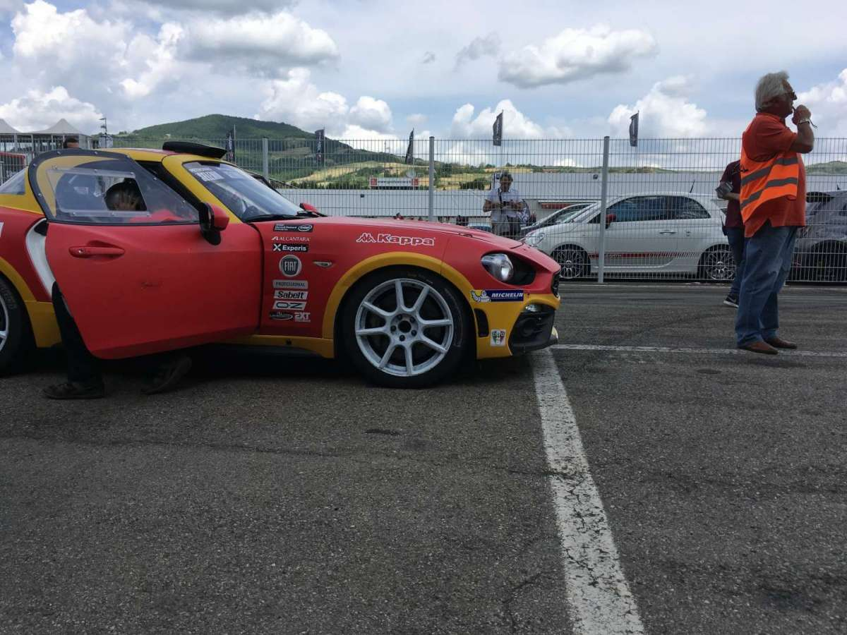 Abarth 124 Rally livrea storica