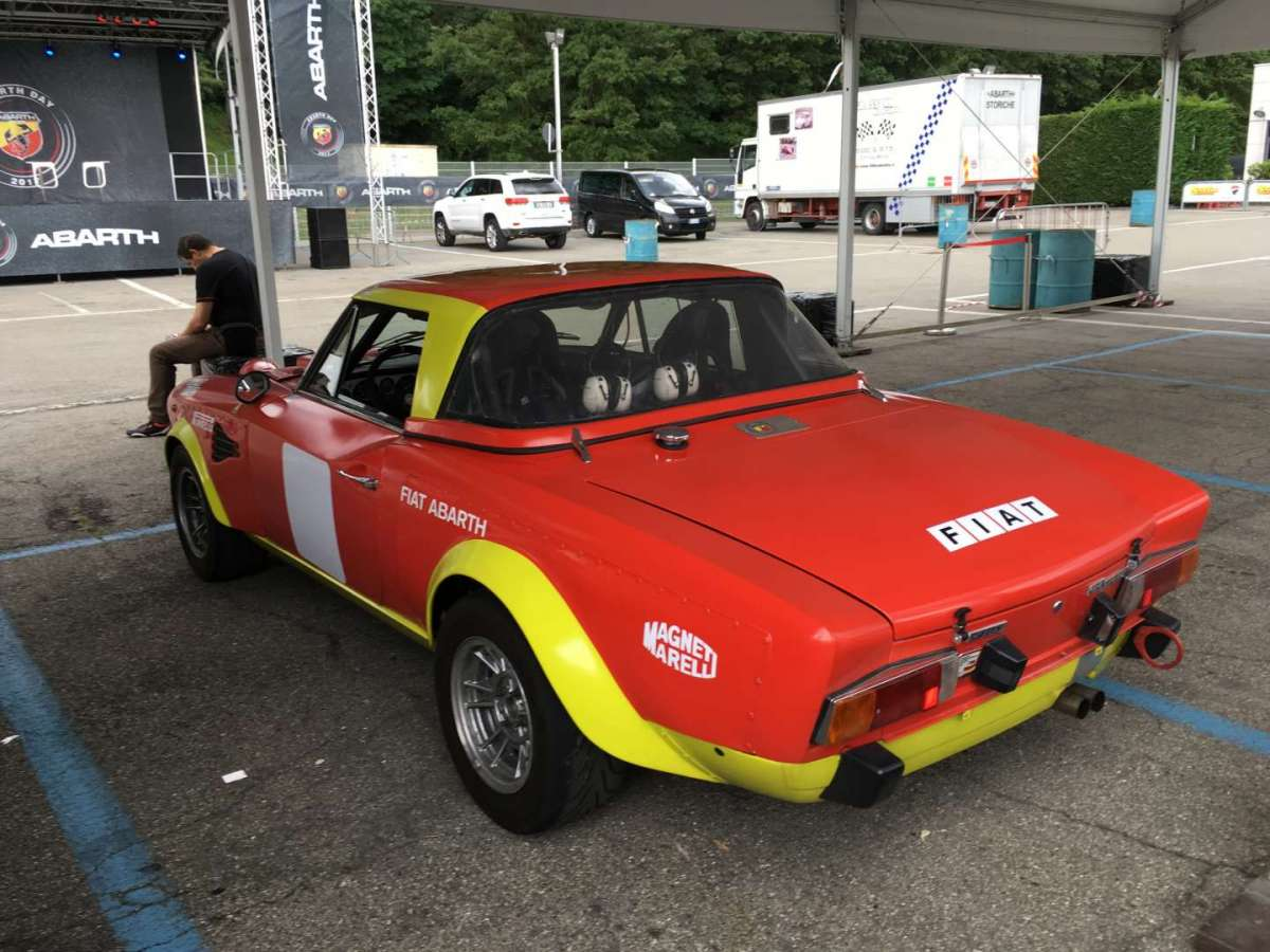 Fiat Abarth 124 Spider d'epoca
