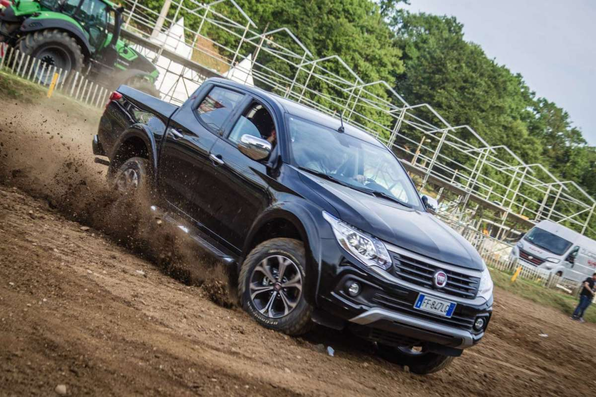 Fiat Fullback 2017, prova in off-road