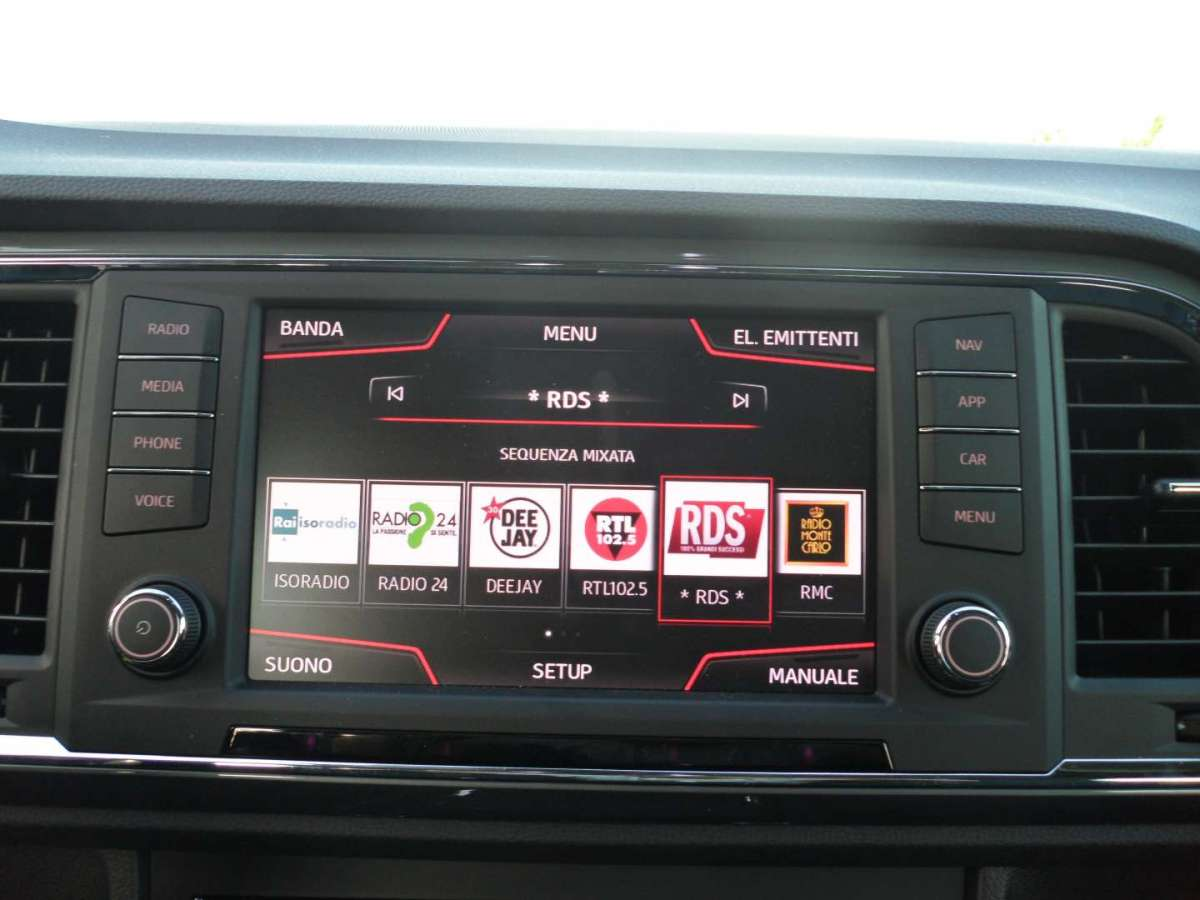 Radio DAB dell'Ateca