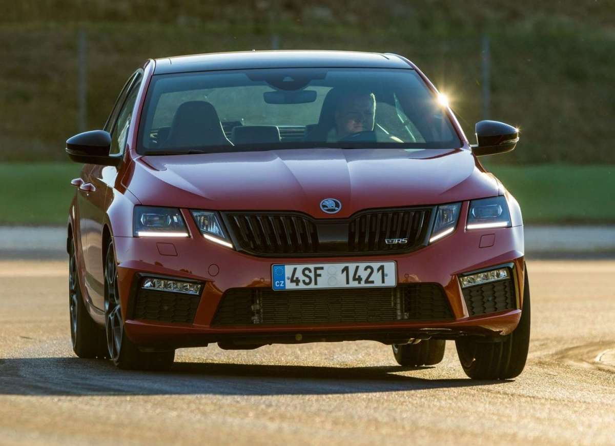 Octavia RS 245 2018 in pista