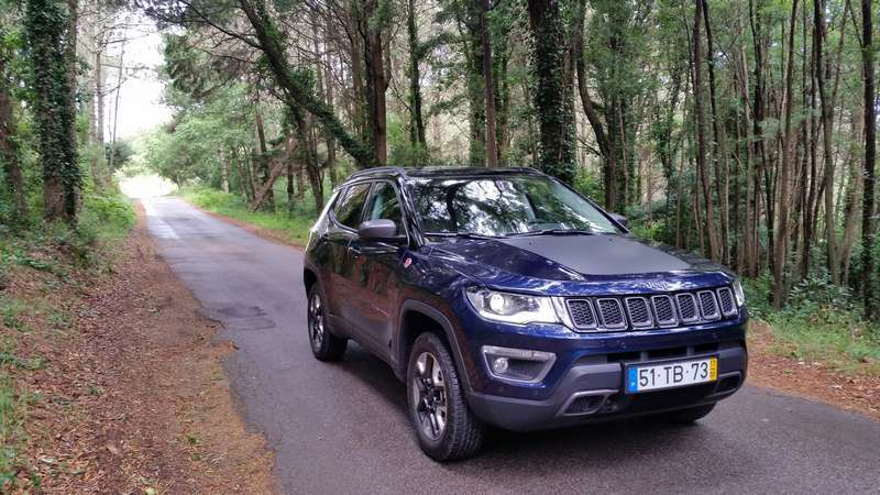 Jeep Compass, test drive