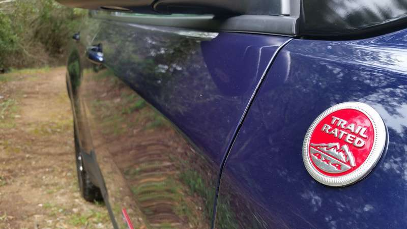 Jeep Compass badge
