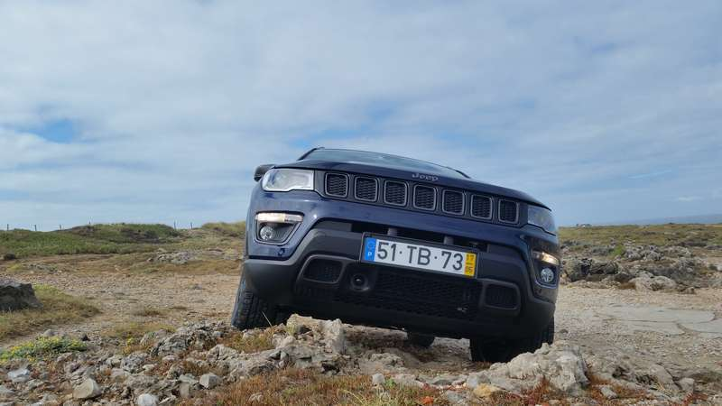 Jeep Compass in salita