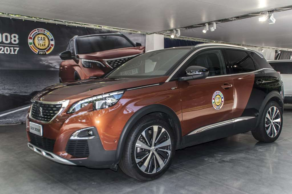 Parco Valentino 2017 Peugeot 3008