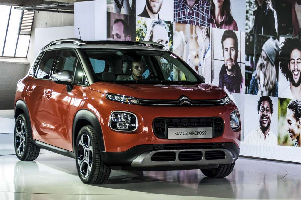 Citroen C3 Aircross design