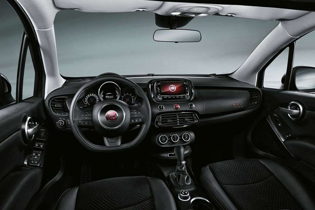 Interni di Fiat 500X S-Design